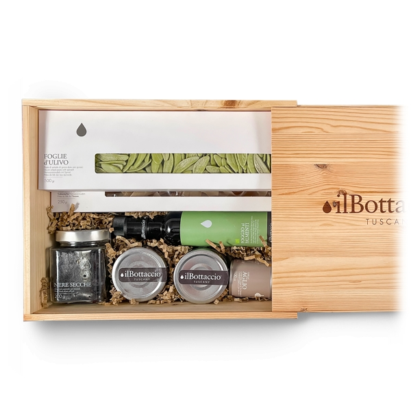 Il Bottaccio - Pasta Gift Box 2 - Tuscan Extra Virgin Olive Oil - Gift Ideas - Italian - High Quality