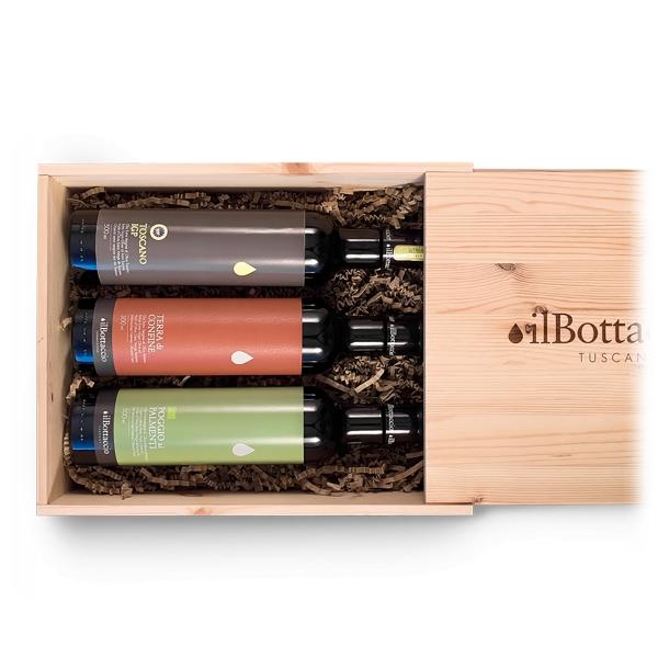 Il Bottaccio - Set Extra Virgin Olive Oil - Tuscan Extra Virgin Olive Oil - Gift Ideas - Italian - High Quality