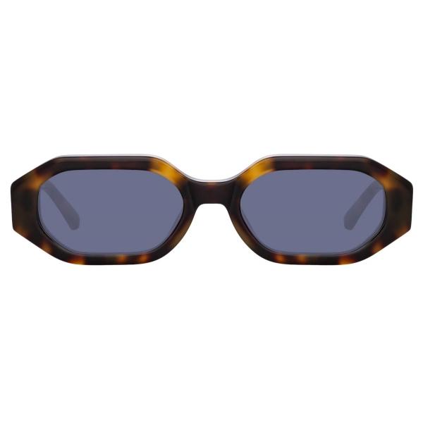 The Attico - Irene Angular Sunglasses in Green - ATTICO14C3SUN - Sunglasses - Official Eyewear by Linda Farrow
