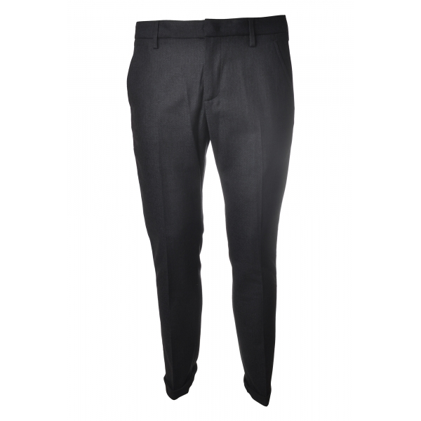 Dondup - Trousers Gaubert Model - Blue - Trousers - Luxury Exclusive Collection