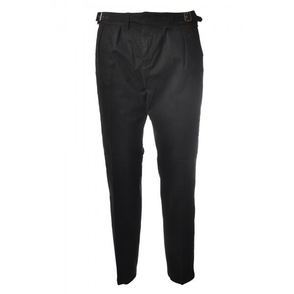 Dondup - Pantalone Modello Kolby - Nero - Pantalone - Luxury Exclusive Collection