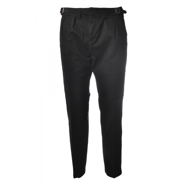Dondup - Trousers Kolby Model - Black - Trousers - Luxury Exclusive Collection