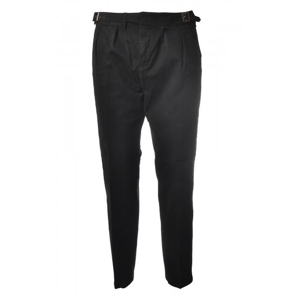 Dondup - Pantalone Modello Gaubert - Nero - Pantalone - Luxury Exclusive Collection