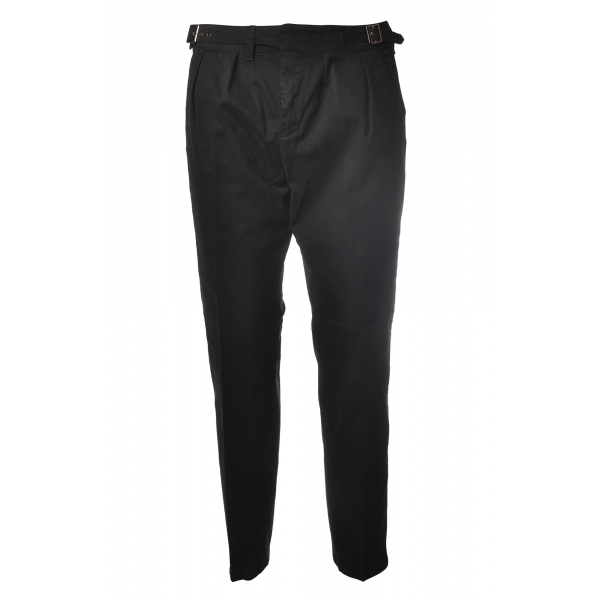 Dondup - Trousers Gaubert Model - Black - Trousers - Luxury Exclusive Collection