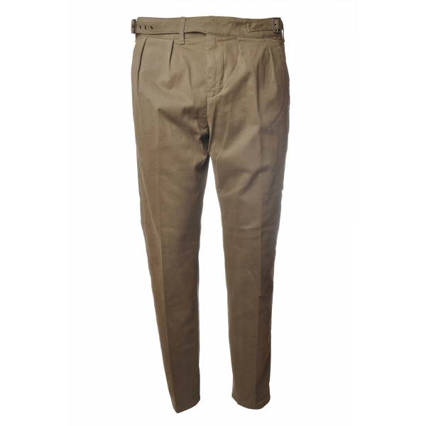 Dondup - Trousers Kolby Model - Beige - Trousers - Luxury Exclusive Collection