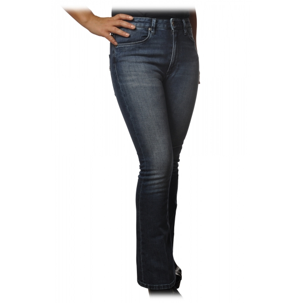 Dondup - Five Pocket Jeans Mandy Model - Dark Denim - Trousers - Luxury Exclusive Collection