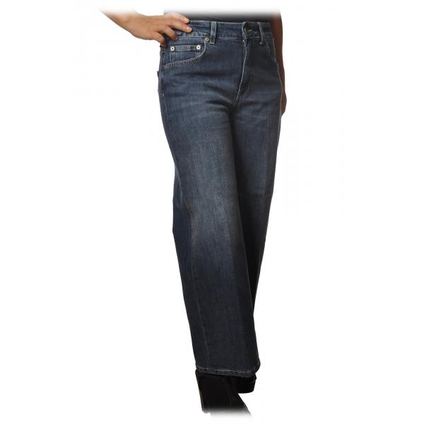 Dondup - Five Pocket Jeans Avenue Model - Dark Denim - Trousers - Luxury Exclusive Collection