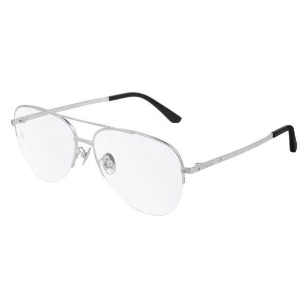 Cartier - Occhiali da Vista CT0256O - Argento - Cartier Eyewear