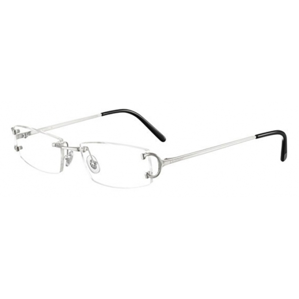 Cartier - Occhiali da Vista Piccadilly CT0092O - Argento - Cartier Eyewear