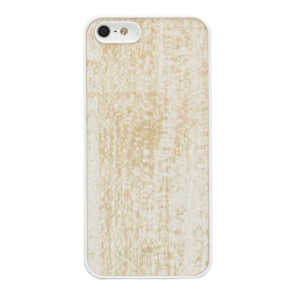 Wood'd - Gold White Cover - iPhone 8 / 7 - Wooden Cover - Vintage Collection