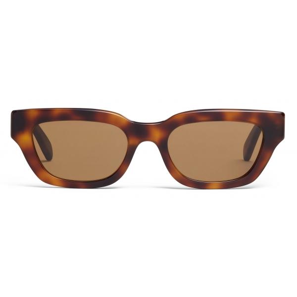 Céline - Occhiali da Sole Rettangolari S192 in Acetato - Avana Biondo - Occhiali da Sole - Céline Eyewear