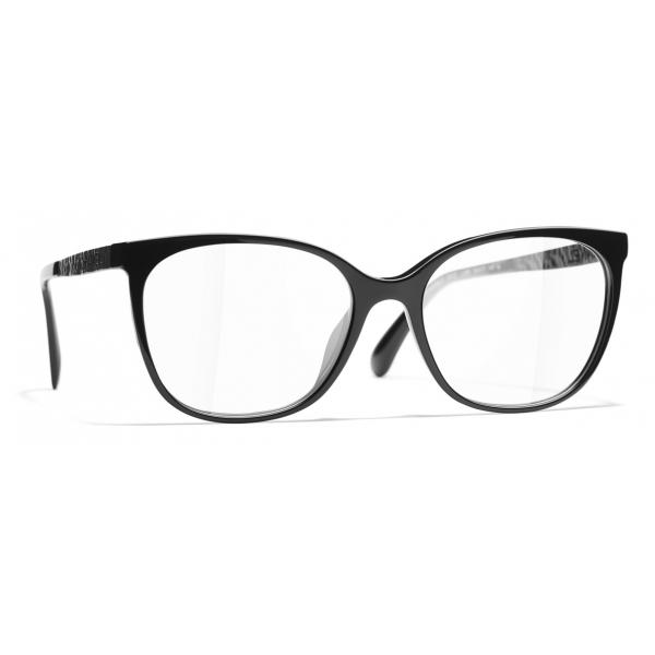 Chanel - Square Eyeglasses - Black - Chanel Eyewear