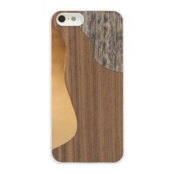 Wood'd - Bronzo Walnut Cover - iPhone 8 / 7 - Cover in Legno - Bronze Classics