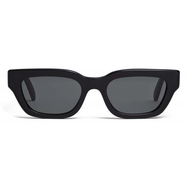 Céline - Rectangular S192 Sunglasses in Acetate - Black - Sunglasses - Céline Eyewear
