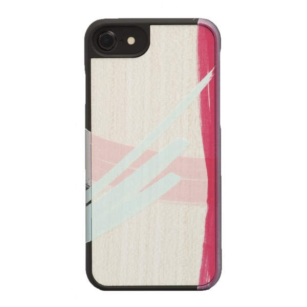 Wood'd - Tela Uno Cover - iPhone 8 / 7 - Cover in Legno - Canvas Collection