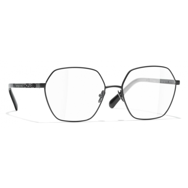 Chanel - Occhiali da Vista Rotondi - Nero - Chanel Eyewear