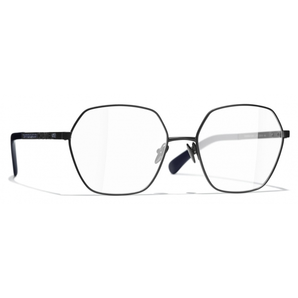 Chanel - Round Eyeglasses - Black - Chanel Eyewear