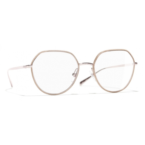 Chanel - Round Eyeglasses - Pink - Chanel Eyewear
