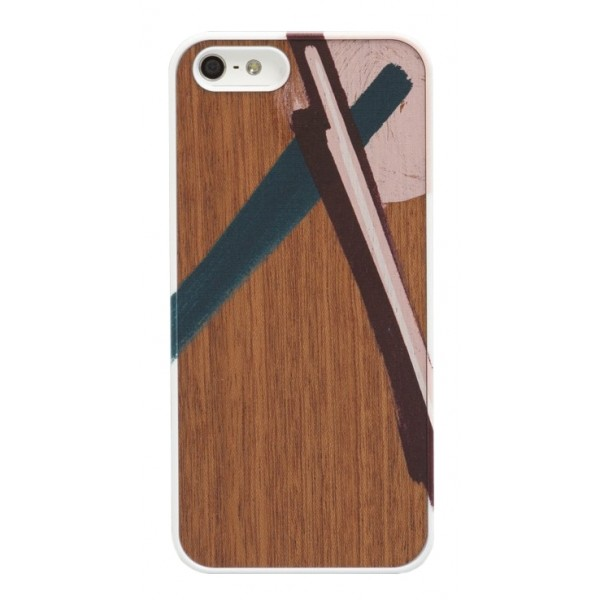 Wood'd - Tela Tre Cover - iPhone 7 - Wooden Cover - Canvas Collection