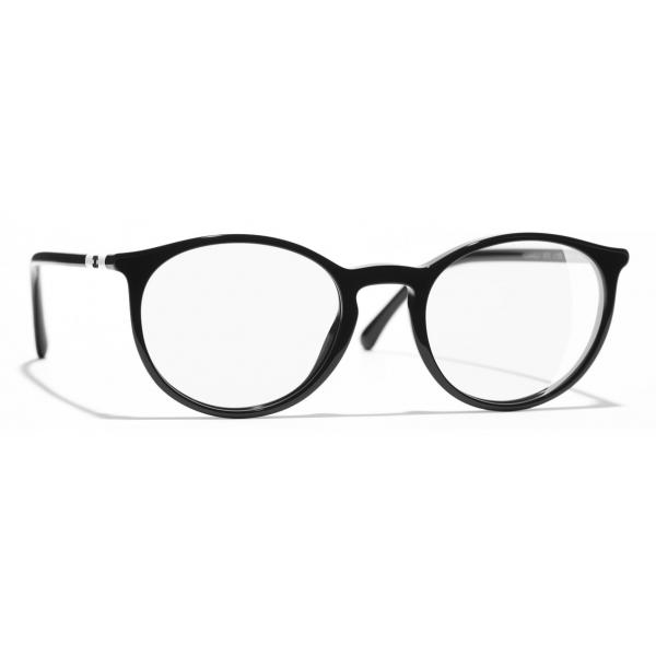 Chanel - Occhiali da Vista Pantos - Bianco Nero - Chanel Eyewear