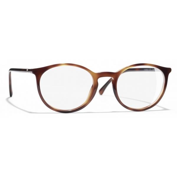 Chanel - Occhiali da Vista Pantos - Tartaruga - Chanel Eyewear
