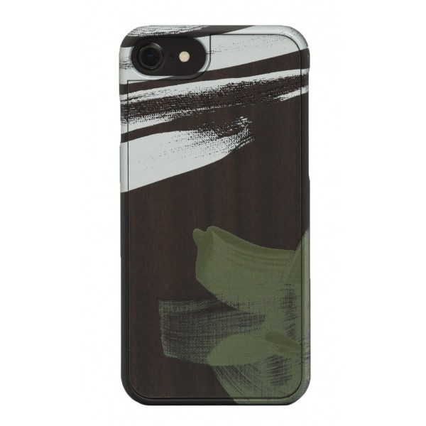 Wood'd - Tela Quattro Cover - iPhone 8 / 7 - Wooden Cover - Canvas Collection
