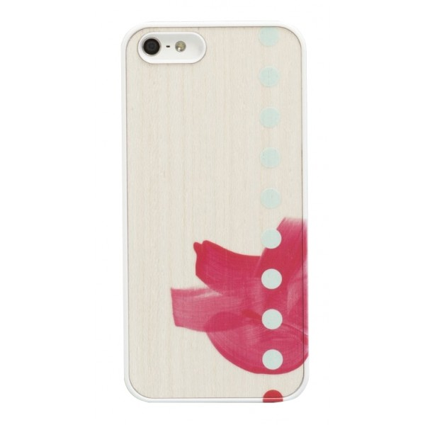 Wood'd - Tela Cinque Cover - iPhone 8 / 7 - Cover in Legno - Canvas Collection