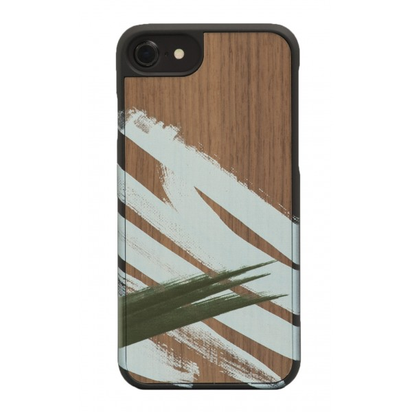 Wood'd - Tela Otto Cover - iPhone 8 / 7 - Wooden Cover - Canvas Collection