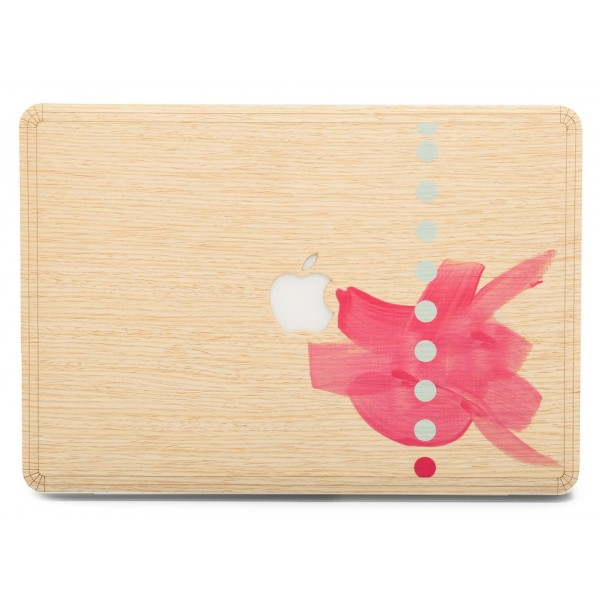 Wood'd - Tela Cinque Skin - MacBook - Wooden Skin - Canvas Collection