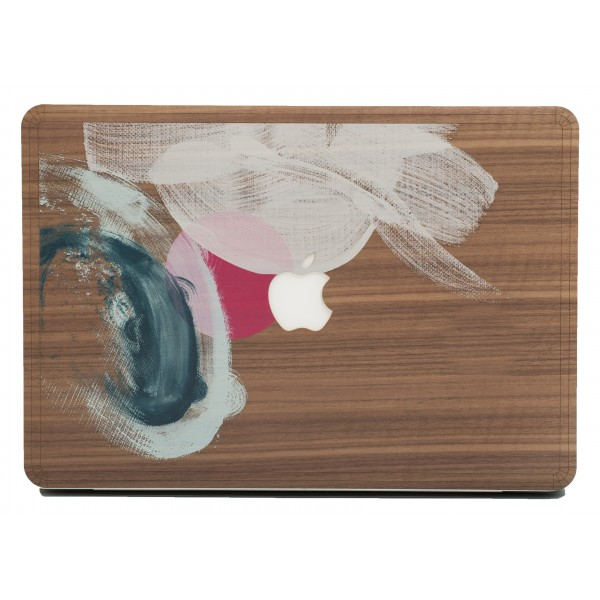 Wood'd - Tela Due Skin - MacBook - Wooden Skin - Canvas Collection