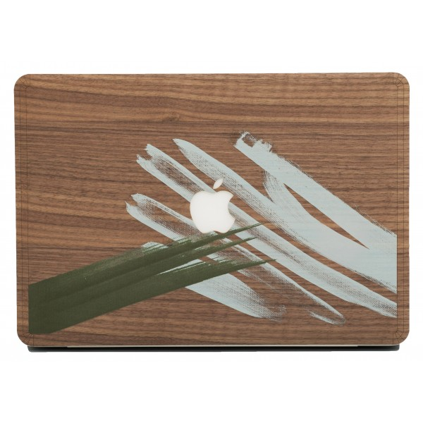 Wood'd - Tela Otto Skin - MacBook - Wooden Skin - Canvas Collection