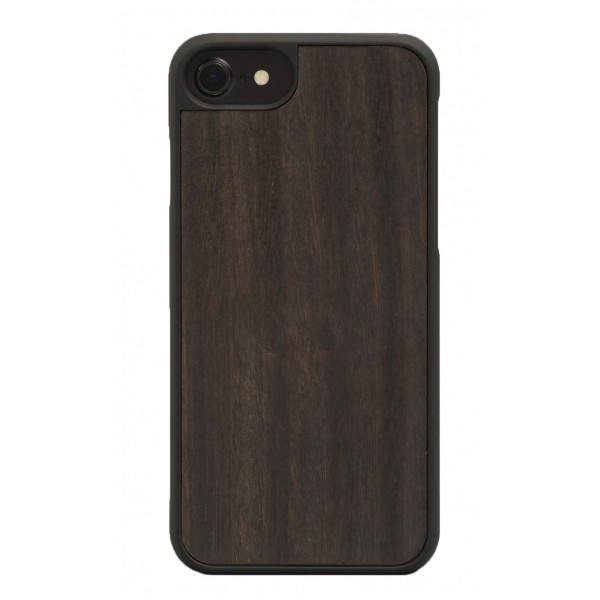 Wood'd - Ebony Cover - iPhone 8 / 7 - Cover in Legno - Classic Collection