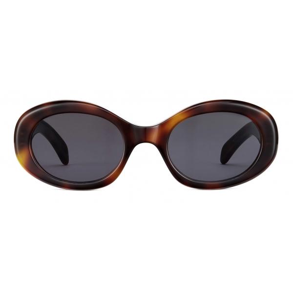 Céline - Occhiali da Sole Triomphe 01 in Acetato - Havana Biondo - Occhiali da Sole - Céline Eyewear
