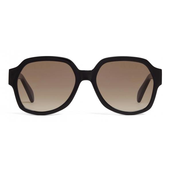 Céline - Occhiali da Sole Triomphe 02 in Acetato - Nero - Occhiali da Sole - Céline Eyewear