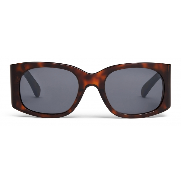 Céline - Triomphe 03 Sunglasses in Acetate - Dark Havana - Sunglasses - Céline Eyewear