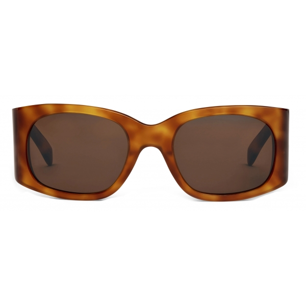Céline - Triomphe 03 Sunglasses in Acetate - Shiny Blonde Havana - Sunglasses - Céline Eyewear