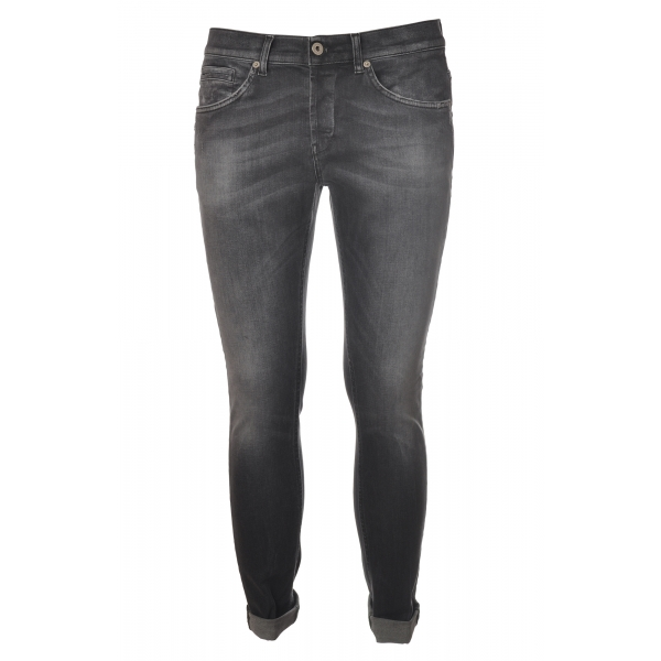 Dondup - Five Pocket Jeans George Model - Grey - Trousers - Luxury Exclusive Collection