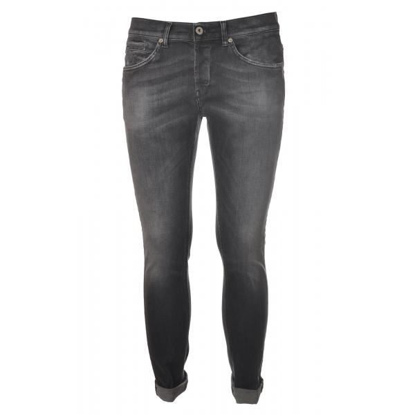 Dondup - Jeans Cinque Tasche Modello George - Grigio - Pantalone - Luxury Exclusive Collection