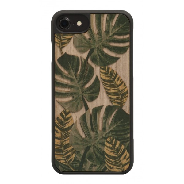 Wood'd - Tropical Cover - iPhone 8 / 7 - Cover in Legno - Classic Collection