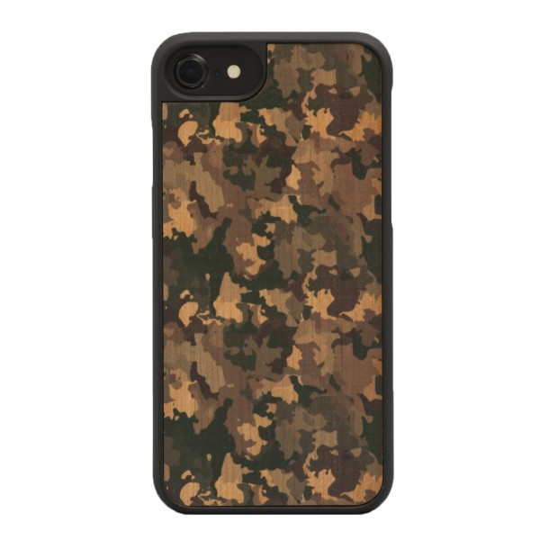 Wood'd - Camouflage Cover - iPhone 8 / 7 - Cover in Legno - Classic Collection