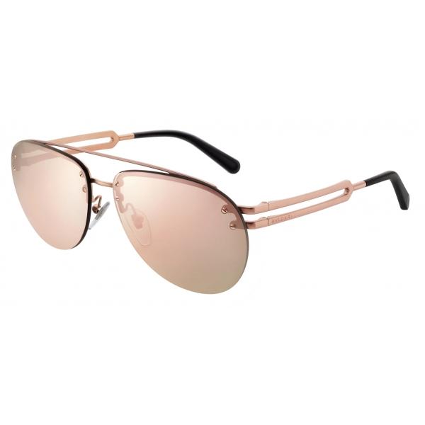 Bulgari - Bvlgari Bvlgari Man - Aviator Sunglasses - Rose Gold - Bvlgari Man Collection - Sunglasses - Bulgari Eyewear