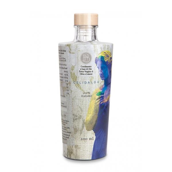 Olio le Donne del Notaio - Celidalba - Bottiglia di Vetro  - Extravergine d'Oliva - Alta Qualità Italia - Abruzzo - 200 ml