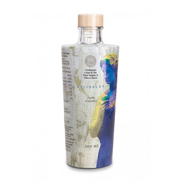 Olio le Donne del Notaio - Celidalba - Glass Bottle - Extra Virgin Olive Oil - Artisan - Italian High Quality - 200 ml