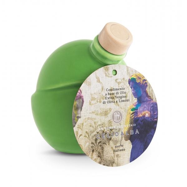 Olio le Donne del Notaio - Celidalba - Ceramic - Extra Virgin Olive Oil - Artisan - Italian High Quality - 250 ml