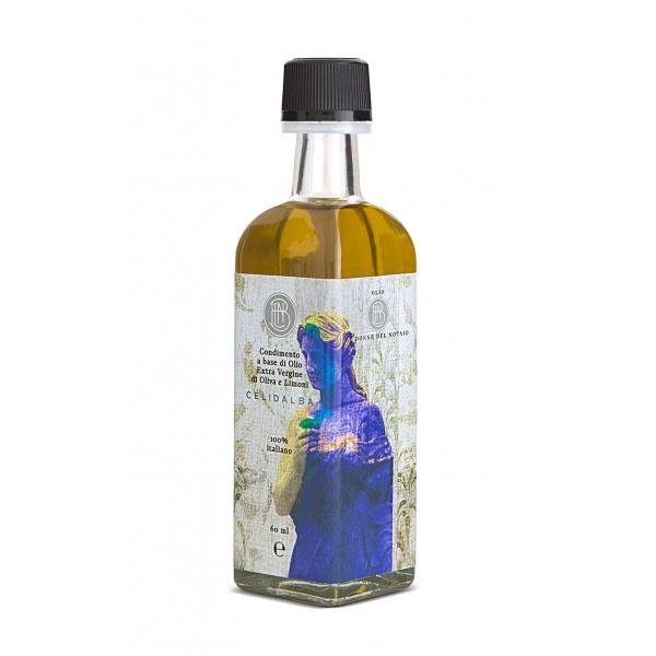 Olio le Donne del Notaio - Celidalba - Glass Bottle - Extra Virgin Olive Oil - Artisan - Italian High Quality - 60 ml