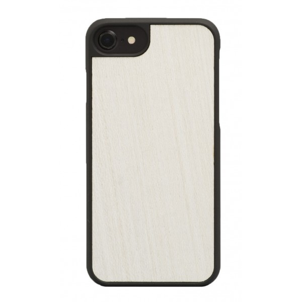 Wood'd - White Cover - iPhone 8 / 7 - Cover in Legno - Classic Collection