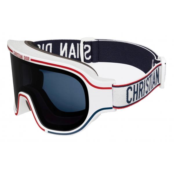 Dior - Sunglasses - DiorAlps M1U - White Blue Red - Dior Eyewear