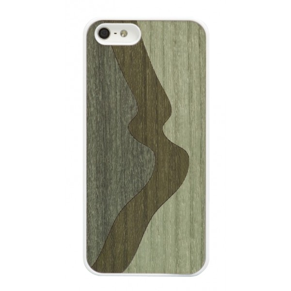 Wood'd - Inlay Green Cover - iPhone 8 / 7 - Cover in Legno - Classic Collection