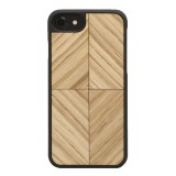 Wood'd - Vortex Oak Cover - iPhone 8 / 7 - Cover in Legno - Classic Collection