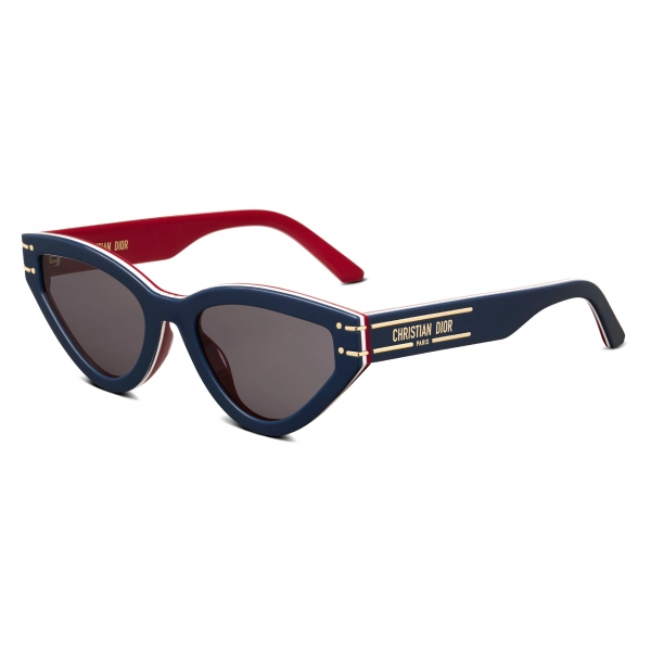 Dior - Occhiali da Sole - DiorSignature B2U DiorAlps - Blu Bianco Rosso - Dior Eyewear
